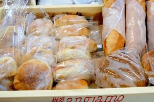 パンチキチキのバゲットなどのハード系パン。
