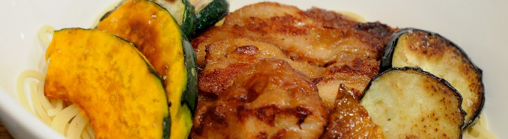 イタリアン付け麺。期間限定で非常に美味しいつけ麺!
