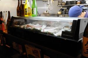 新鮮なお魚が並んでいます。