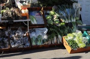 ロハスカフェさんの野菜。