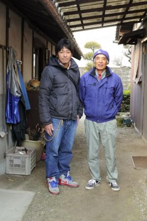 木村店長と長晴さん。