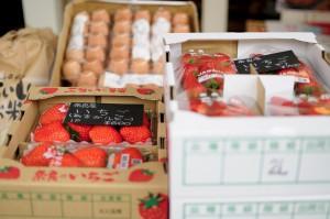 あすかルビーとことか。甘くて美味しくて瑞々しい苺です。