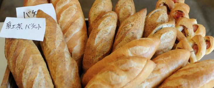 パンチキチキさんのハード系パン。