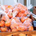 ロハスカフェさんの奈良県産の富有柿