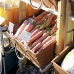 ロハスカフェさんの奈良県産の野菜