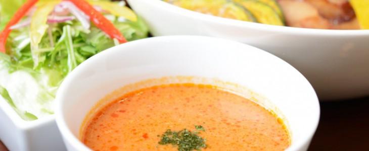 トマトがおいしいつけ汁。