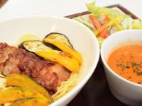 ロハスカフェさんのイタリアンつけ麺