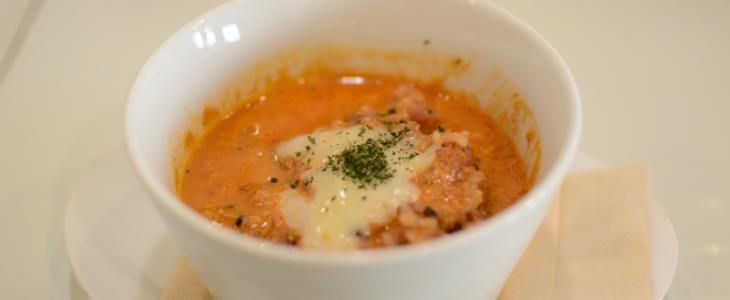 イタリアンつけ麺のリゾット